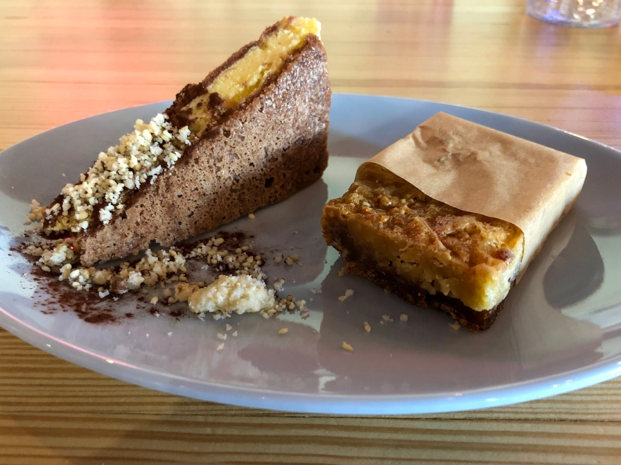 Passionfruit Ice Cream Sandwich and G Bar